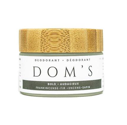 Dom's deodorant | Bold