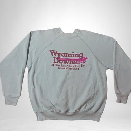 Wyoming | Vintage horse racing sweater