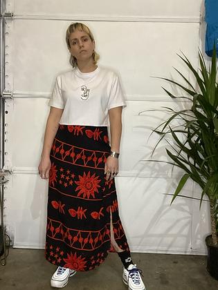 Pina volada | Vintage wrap skirt