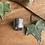 Thumbnail: White buffalo turquoise spoon Ring by Silversmith Spirit