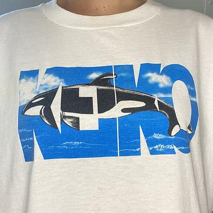 Save the whales | Vintage keiko t-shirt