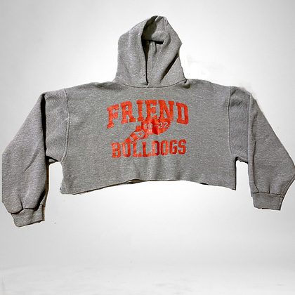 Friendly doggo | cropped bulldog sweater