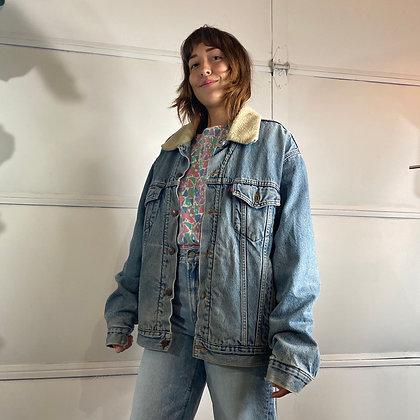 Love Shack   Vintage Levi Denim Jacket