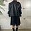 Thumbnail: Biker bitch | 90's black leather jacket