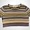 Thumbnail: Jess | Vintage 90's striped cropped T-shirt