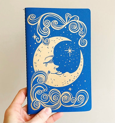 The Blue Moon notebook by The Rainbow Vision