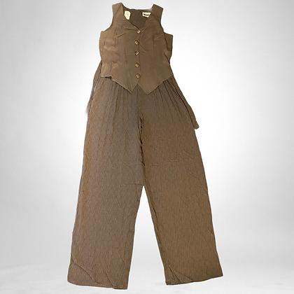 Friends | 90's one piece pants and vest