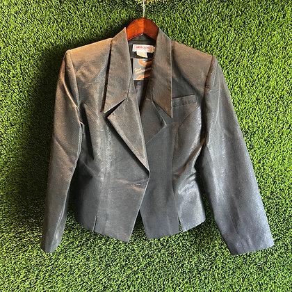 True Lies   80's /90's cropped blazer
