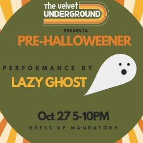 Lazy Ghost Pre-Halloweener on Oct. 27, 2018