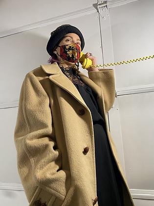 Call me maybe   Vintage beige pea coat