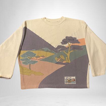 Bonsai   Vintage bat wing sweater