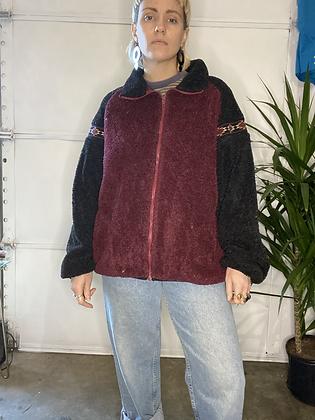 Try it on   | Vintage fleece sweater