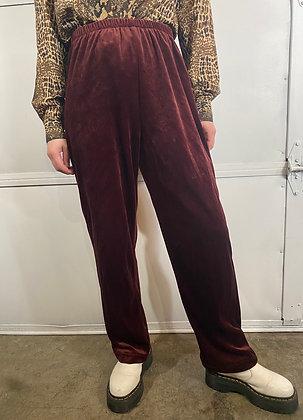 Game Changer | Vintage Velvet Pants