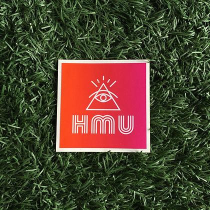 HMU Logo Sticker