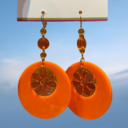 Modo daisy earrings by MindFlowers