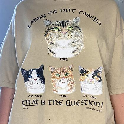 Tabby | Vintage cat t-shirt