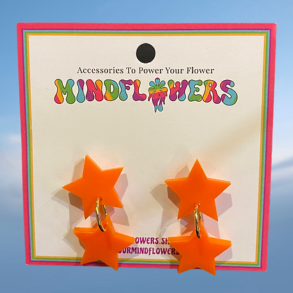 Star bright earrings by MindFlowers