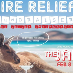 Fire Relief Fundraiser on Feb. 8, 2020
