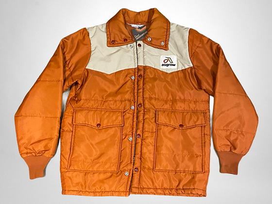 Garfield | burnt orange puffer jacket