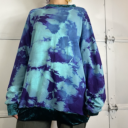 Sailor moon | Handmade bamboo tie dye sweater