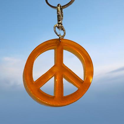 Peace key chain by MindFlowers