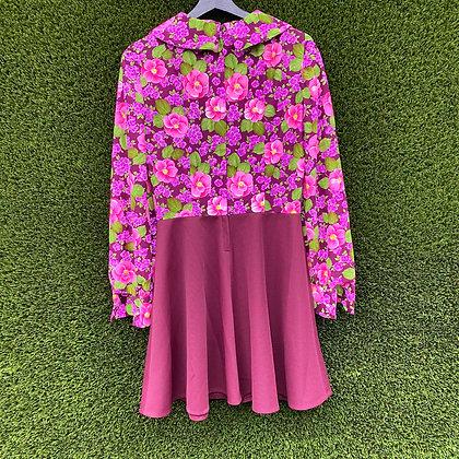 Honest |70's vintage floral dress