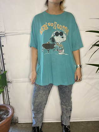 When's lunch | Vintage snoopy T-shirt