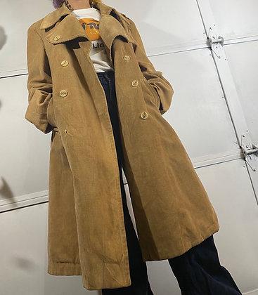 Big brown dog   Vintage corduroy jacket