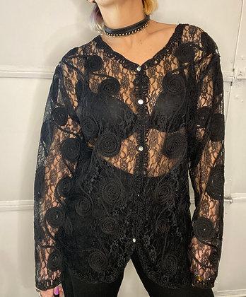 Lace mace | vintage Lacey shirt