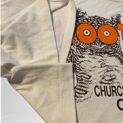 Hoot | cropped Vintage Hooters T-shirt