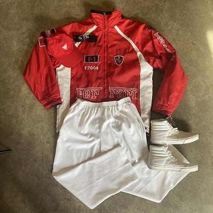 Shoe maker | Ferrari racing puffer jacket