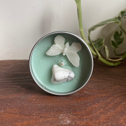 Howlite Soy Wax Candle (Small)
