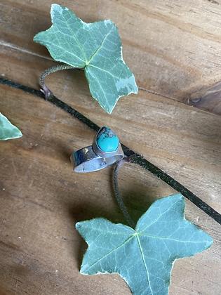 Variscite Ring by Silversmith Spirit