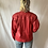 Thumbnail: Red rocket | 80's vintage red leather jacket