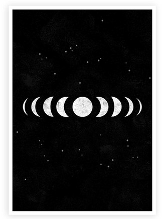 Moon Phases • Wall Art