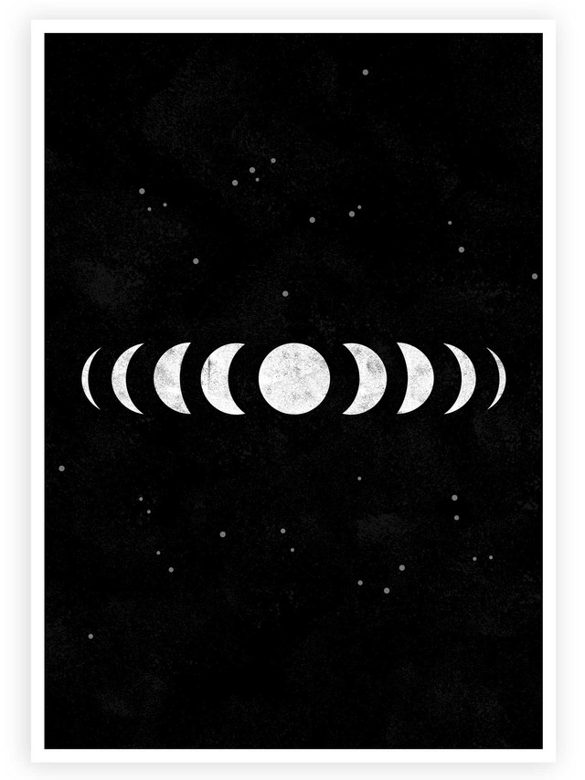 Moon Phases • Wall Art