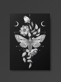 Witchy Moth Notebook