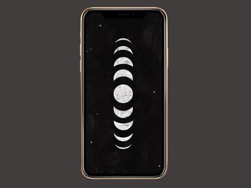 Free Moon Wallpaper iPhone