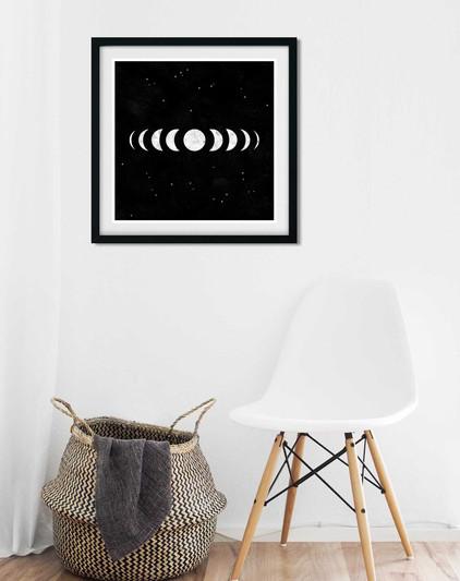 Moon Phases • Printable Wall Art