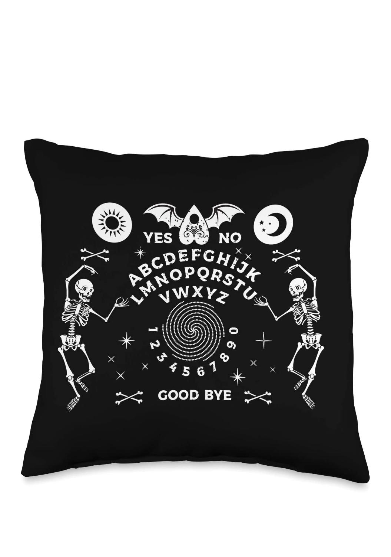 Ouija Board Throw Pillow