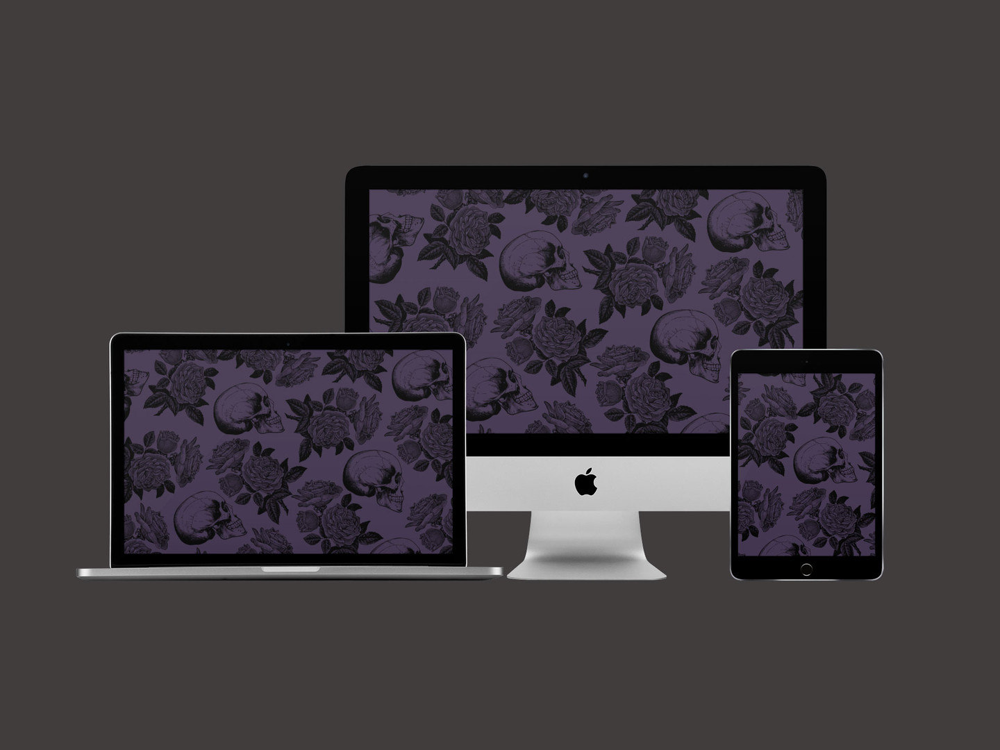 Free Goth Aesthetic Wallpaper Skulls And Roses
