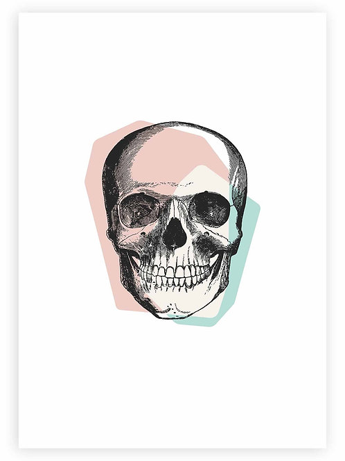 Pastel Goth PRINTABLE WALL ART. Skull Art for your gothic home. Alternative aesthetic for Goth Girls.