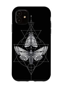 Geometric Moths iPhone Case