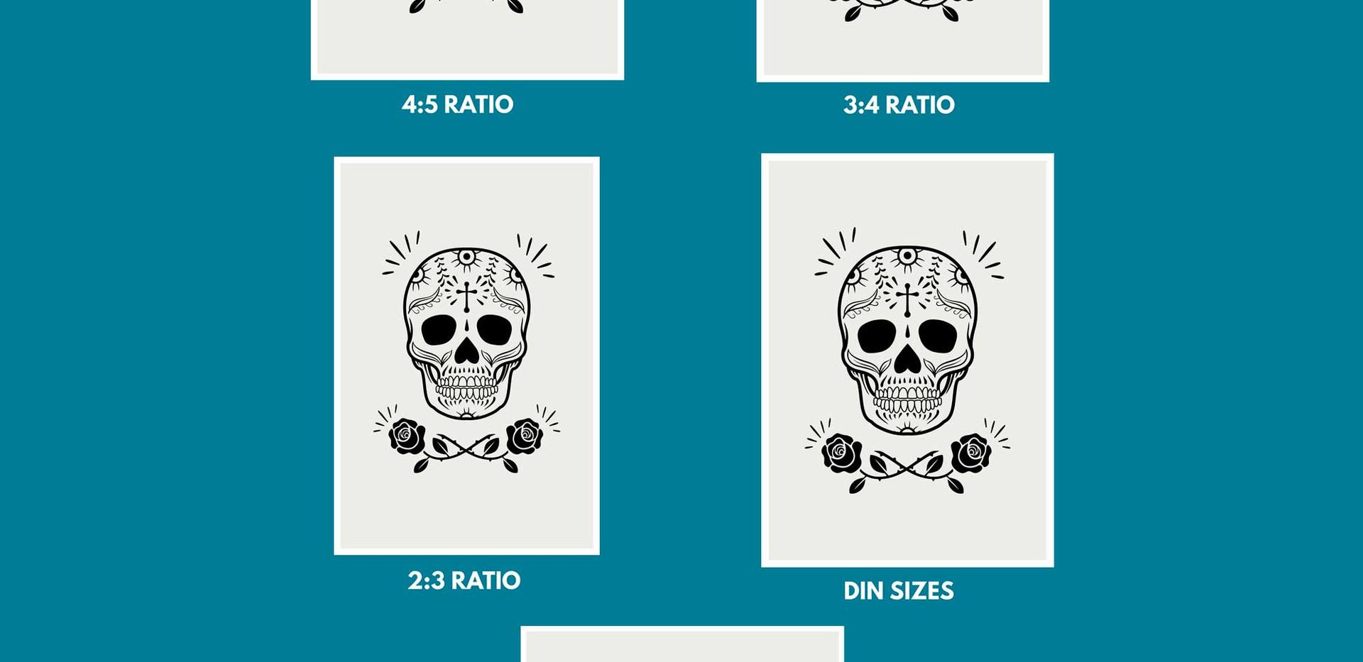 Printable Sizes Information