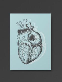 Pastel Goth Heart Notebook