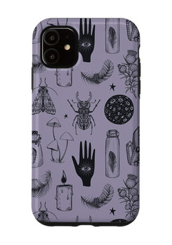 Witchy Pattern iPhone Case