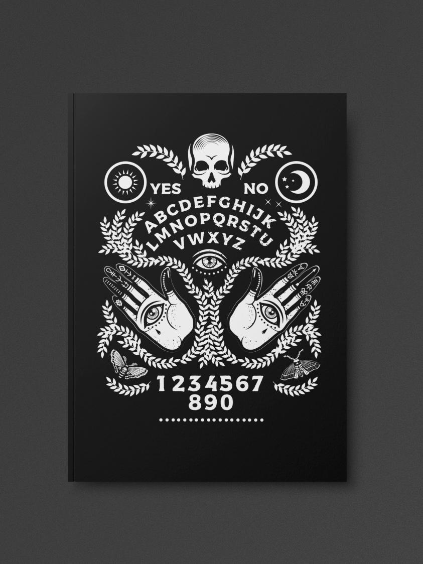 Ouija Board Notebook