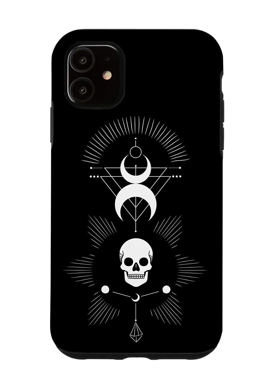 Nu Goth Skull iPhone Case