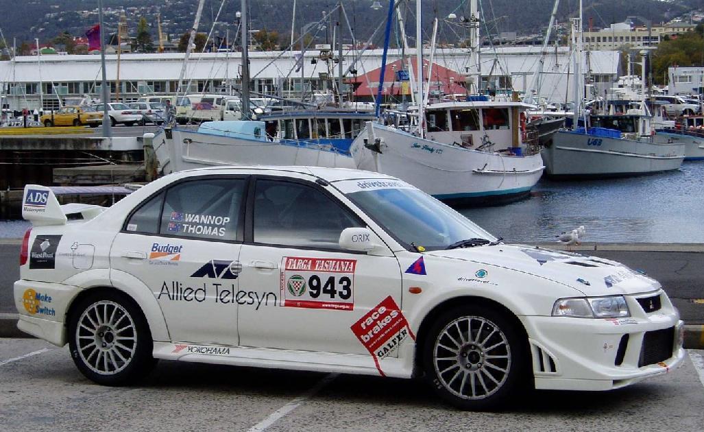 Keith's rally car