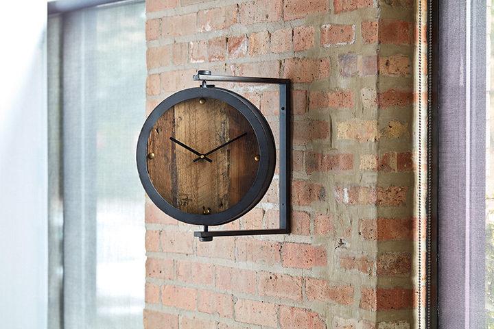 Modern Prairie Clock